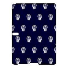 Skull Pattern Blue  Samsung Galaxy Tab S (10.5 ) Hardshell Case