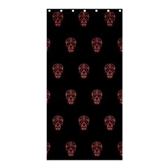 Skull Pattern Pink  Shower Curtain 36  x 72  (Stall)