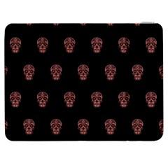 Skull Pattern Pink  Samsung Galaxy Tab 7  P1000 Flip Case