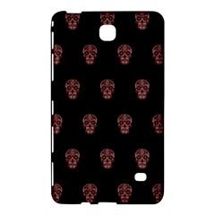 Skull Pattern Pink  Samsung Galaxy Tab 4 (8 ) Hardshell Case