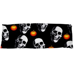Skulls And Pumpkins Body Pillow Cases Dakimakura (Two Sides)