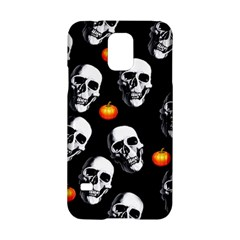 Skulls And Pumpkins Samsung Galaxy S5 Hardshell Case