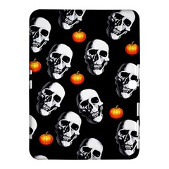 Skulls And Pumpkins Samsung Galaxy Tab 4 (10.1 ) Hardshell Case