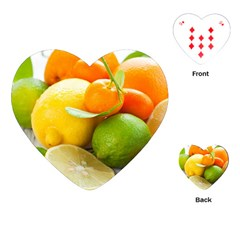 Citrus Fruits Playing Cards (Heart)