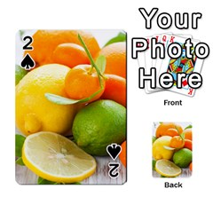 Citrus Fruits Playing Cards 54 Designs