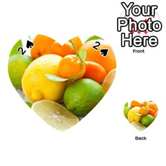 Citrus Fruits Playing Cards 54 (heart)
