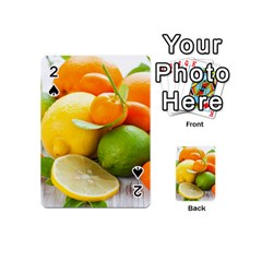 Citrus Fruits Playing Cards 54 (Mini)