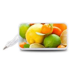Citrus Fruits Portable Speaker (White)