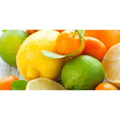 Citrus Fruits You Are Invited 3d Greeting Card (8x4)