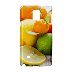 Citrus Fruits Samsung Galaxy Note 4 Hardshell Case