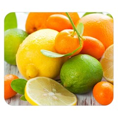 Citrus Fruits Double Sided Flano Blanket (Small)