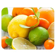 Citrus Fruits Double Sided Flano Blanket (Medium)