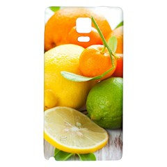 Citrus Fruits Galaxy Note 4 Back Case