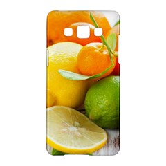 Citrus Fruits Samsung Galaxy A5 Hardshell Case