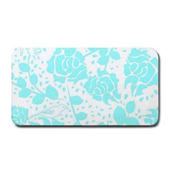 Floral Wallpaper Aqua Medium Bar Mats