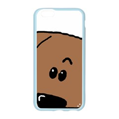 Peeping Dachshund Apple Seamless iPhone 6 Case (Color)
