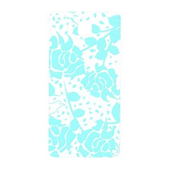 Floral Wallpaper Aqua Samsung Galaxy Alpha Hardshell Back Case