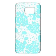 Floral Wallpaper Aqua Galaxy S6