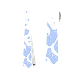 Floral Wallpaper Blue Neckties (Two Side)