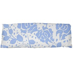 Floral Wallpaper Blue Body Pillow Cases Dakimakura (two Sides)