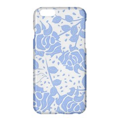 Floral Wallpaper Blue Apple Iphone 6/6s Plus Hardshell Case