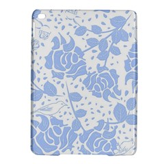 Floral Wallpaper Blue iPad Air 2 Hardshell Cases