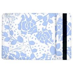 Floral Wallpaper Blue iPad Air 2 Flip