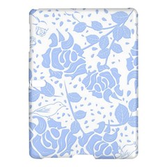 Floral Wallpaper Blue Samsung Galaxy Tab S (10.5 ) Hardshell Case