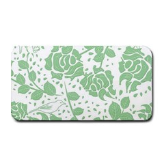 Floral Wallpaper Green Medium Bar Mats