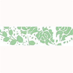 Floral Wallpaper Green Large Bar Mats