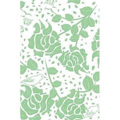Floral Wallpaper Green 5.5  x 8.5  Notebooks