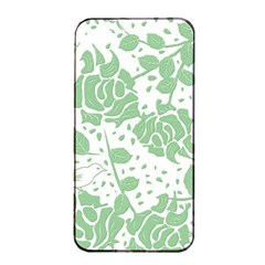 Floral Wallpaper Green Apple Iphone 4/4s Seamless Case (black)