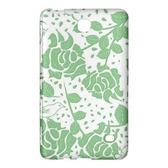 Floral Wallpaper Green Samsung Galaxy Tab 4 (8 ) Hardshell Case