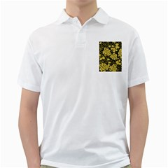 Floral Wallpaper Forest Golf Shirts