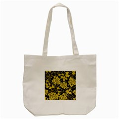 Floral Wallpaper Forest Tote Bag (Cream)
