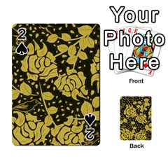 Floral Wallpaper Forest Playing Cards 54 Designs