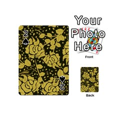 Floral Wallpaper Forest Playing Cards 54 (Mini)