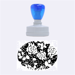 Floral Wallpaper Forest Rubber Oval Stamps