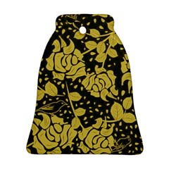 Floral Wallpaper Forest Ornament (Bell)