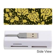 Floral Wallpaper Forest Memory Card Reader (Stick)