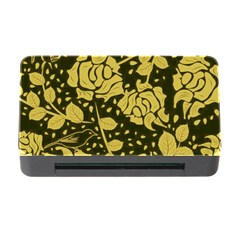 Floral Wallpaper Forest Memory Card Reader With Cf
