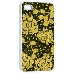 Floral Wallpaper Forest Apple iPhone 4/4s Seamless Case (White)