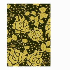 Floral Wallpaper Forest Small Garden Flag (Two Sides)