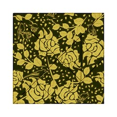 Floral Wallpaper Forest Acrylic Tangram Puzzle (6  X 6 )