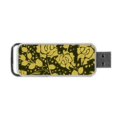 Floral Wallpaper Forest Portable Usb Flash (two Sides)
