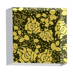 Floral Wallpaper Forest 5  x 5  Acrylic Photo Blocks