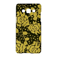 Floral Wallpaper Forest Samsung Galaxy A5 Hardshell Case