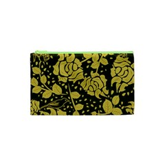 Floral Wallpaper Forest Cosmetic Bag (XS)