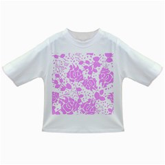 Floral Wallpaper Pink Infant/toddler T Shirts