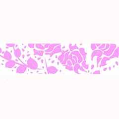 Floral Wallpaper Pink Large Bar Mats